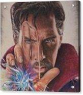 Dr. Strange Acrylic Print