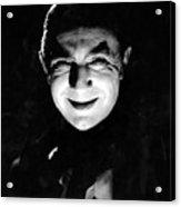Dracula In The Shadows Acrylic Print