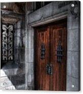 Dracula's Back Door Acrylic Print