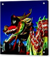 Dragon 3 Acrylic Print