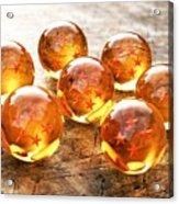 Dragon Balls Acrylic Print