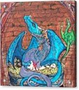 Dragon Family Acrylic Print