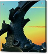 Dragon Fish Acrylic Print