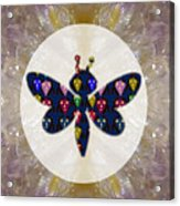 Dragon Fly Cute Painted Face Cartons All Over Donwload Option Link Below Personl N Commercial Uses Acrylic Print
