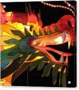 Dragon Head Acrylic Print
