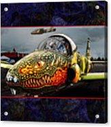 Dragon Jet Acrylic Print