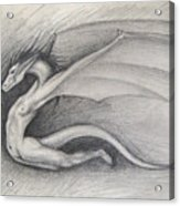 Dragon Man Acrylic Print