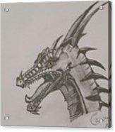 Dragon O King Acrylic Print