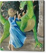 Dragon Princess 2 Acrylic Print