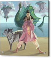 Dragon Queen Acrylic Print