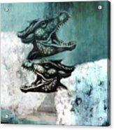 Dragon Sheep Acrylic Print