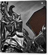Dragon Slayer Acrylic Print
