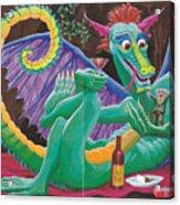 Dragon Sups Acrylic Print