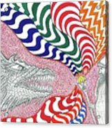 Dragon Tamer Acrylic Print