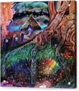 Dragon Under The Hill Acrylic Print