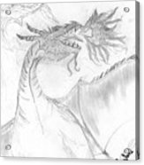 Dragon V. Acrylic Print