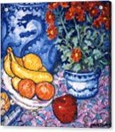 Dragon Vase Acrylic Print