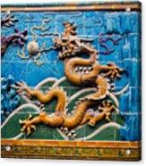 Dragon Wall Acrylic Print