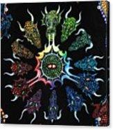 Dragon Wheel Acrylic Print