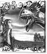 Dragon Whisperer  Acrylic Print