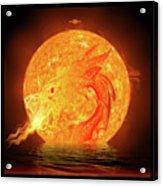 Dragonbirth Acrylic Print