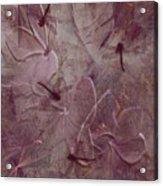 Dragonflies Acrylic Print by Jean Gugliuzza
