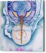 Dragonfly Spirit Acrylic Print by Diana Shively