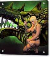 Dragon's Bane Color Acrylic Print