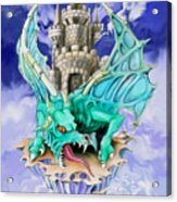 Dragons Keep By Spano Acrylic Print