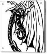 Dragons Orb Acrylic Print