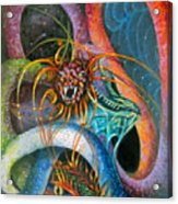 Dragons Three Acrylic Print