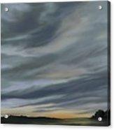 Drama In A Morning Sky Acrylic Print