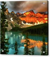 Drama Of The Canadian Rockies Acrylic Print