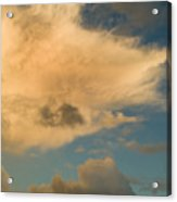 Dramatic Clouds In The Sky Resting Acrylic Print
