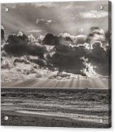 Dramatic Dutch Coast Acrylic Print