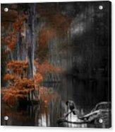 Dramatic Lake Acrylic Print