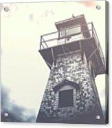 Dramatic Lighthouse Acrylic Print