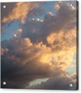 Dramatic Sweeping Clouds Acrylic Print