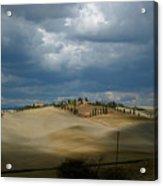 Dramatic Tuscan Landscape Acrylic Print