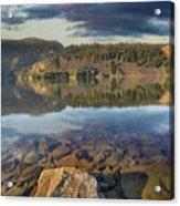 Drano Lake In Washington State Acrylic Print