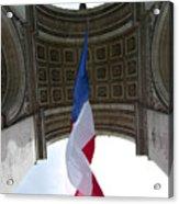 Drapeau Francais Acrylic Print