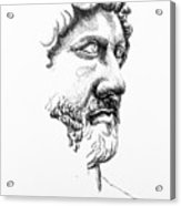 Drawing Acrylic Print