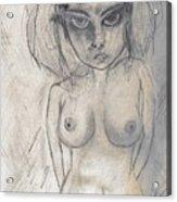 Drawing Dos Acrylic Print
