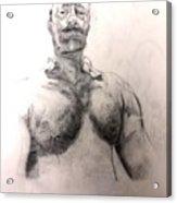 Drawing One Acrylic Print