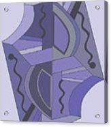 Drawn2abstract229 Acrylic Print