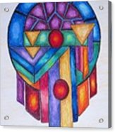 Dream Catcher Abstract Acrylic Print