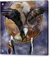 Dream Catcher - Spirit Eagle 3 Acrylic Print