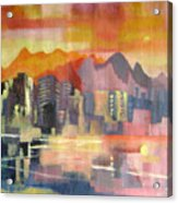Dream City No.3 Acrylic Print