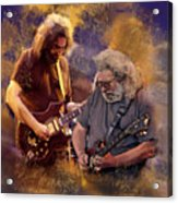 Dream Colors  Jerry Garcia Greatful Dead Acrylic Print