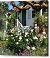Dream Cottage In Laguna Acrylic Print